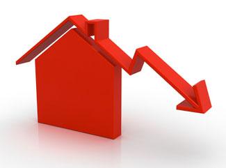 Baisse investissment immo en 2012