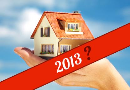 Qu'attendre de l'immobilier en 2013